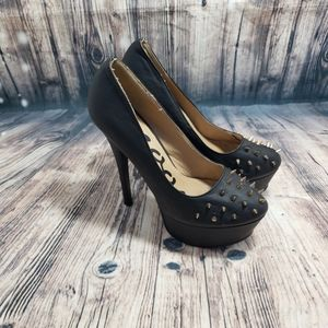 Groove Spiked Heels Size 8